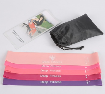 Resistance Mini Elastic Loop Resistance Bands set of 4