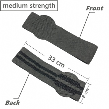 Same sizes different strength Fabric Customized label customized colors Resistance Booty Band