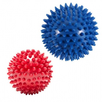 Spiky Massage Balls - Plantar Fasciitis, Muscle Soreness Massager Ball