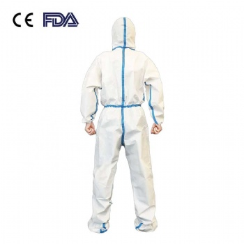 Wholesale PPE suit protection Coverall Safety Isolation Clothing Suit