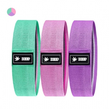 Yoga Gym Exercise fitness for Legs Glutes Booty Hip Fabric Resistance Bands