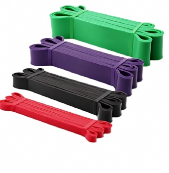 eco friendly heavy duty loop resistance band latex power bands