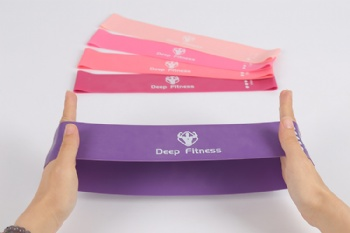 elastic band cotton fabric hip circle resistance exercise fitness elastic band
