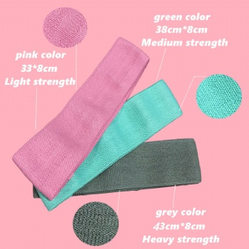 fabric hip circle bands elastic fitness booty bands