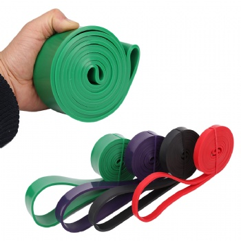 natural latex Pull Up Assist Band Elastic Fitness Power Loop Resistance Bands