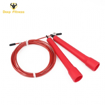 private label durable adjustable PP plastic skipping jump rope