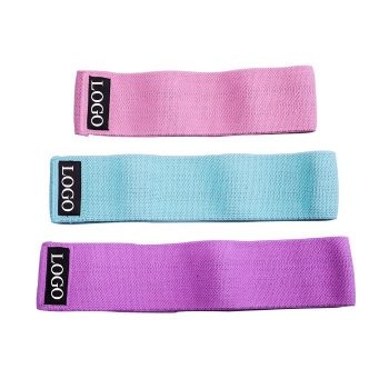resistance booty hip elastic belt training stretching hip circle bands