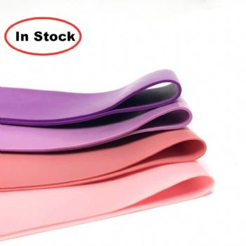 stock latex bands 5 Loop Pink Natural Custom Mini Band