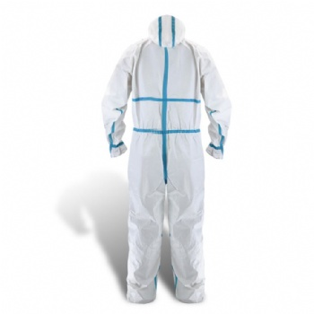 wholesale Disposable surgical protective clothing CE certificate medical use coverall suit