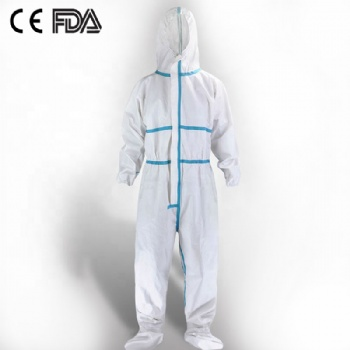 wholesale Disposable surgical protective clothing CE certificate medical use coverall suit insulating clothing